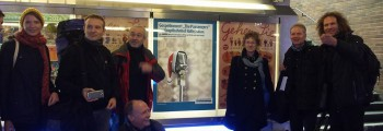 Konzert im Hauptbahnhof Halle
