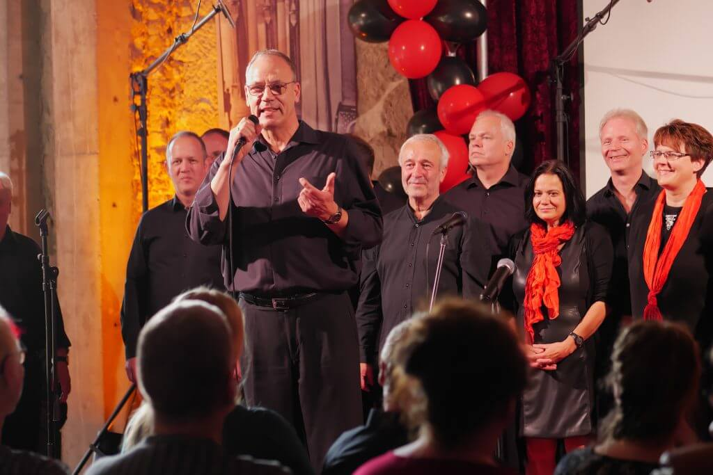 Dresdner Gospel Chor The Gospel Passengers -Jubiläums-Gala Unser Moderator