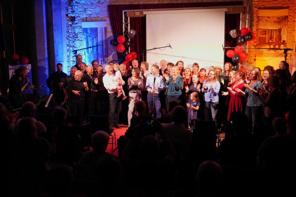 Dresdner Gospel Chor The Gospel Passengers Jubiläums-Gala -Alle zusammen