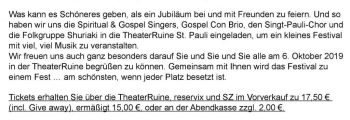 Dresdner Gospel Chor The Gospel Passengers 20-Jahre-Chorfestival People-Get-Ready